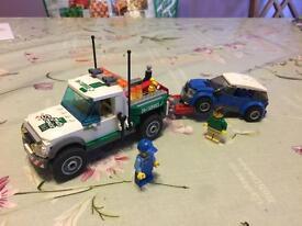 Lego break down truck