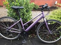 ladies appollo hybrid road bike hardly used