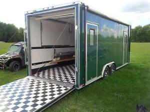 2014 Miska 8.5x22 Cargo Trailer Toy Hauler w/ 3000 Watt Inverter London Ontario image 10