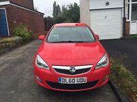 2011 Vauxhall Astra, 24572 miles on the clock, Bluetooth, Manual, Petrol