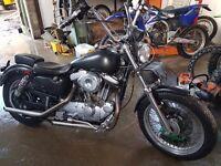 Harley davidson chop