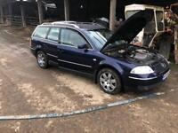 All parts for breaking VW PASSAT EXPORT car breakers scrapyard golf tdi mk5