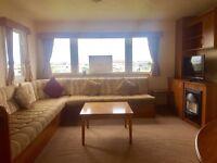 Static Caravan for Sale*Decking & Skirting Inc*12 Month Season*Eyemouth,Nr Berwick, Northumberland