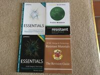 GCSE Revision guides- Resistant Materials. 2 workbooks and 2 Revision guides