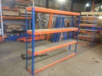 RIVITIER INDUSTRIAL WAREHOUSE WORKSHOP SHOP GARAGE SHED BAY SHELVING UNIT