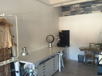 Bright studio space to rent in Dalston (Short Let)
