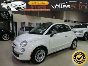 2015 Fiat 500C LOUNGE**CONVERTIBLE**LEATHER**