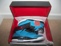 Nike Air Jordan Retro 3 Powder Blue Shoes , Trainers , Uk Size: 8 (Euro: 42.5)