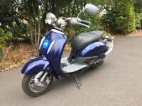 125 scooter 12 Months MOT