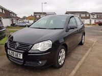 2009 VW POLO MATCH 1.4TDI,DIESEL,MANUAL,30£ TAX A YEAR,VERY ECONOMICAL,07549508197