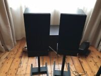 Linn Index Speakers with stands.