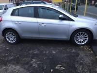 2009 58 Reg Fiat Bravo 1.9 JTD Silver 5 door top spec