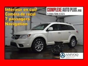 2016 Dodge Journey R/T AWD 4x4 7 passagers *Navi/GPS,Cuir,Camera