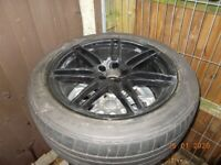 Audi Q5 S Line Alloy Wheel & Tyre 225/45/20