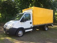 08 Iveco daily 35.12 curtain. box .pickup. luton with tail lift 1 owner only 27k yes 27k Years Mot