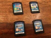 VITA games (Little big planet (LBP), Modnation Racers and Freedom Wars)