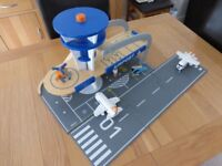 Buy early for Christmas! - ELC Wooden Airport Playset