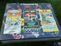 Commodore64 with cassette player and loads of games