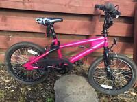 """Girls 18"""" bmx bike"""