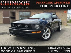 2009 Ford Mustang V6 5-Speed Manual,Htd Leather Seat,6-CD,Cruise