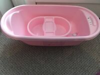 Mother care baby bath & top in tail