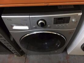 LG 8KG 1400 SPIN A+ SILVER WAHING MACHINE