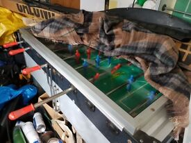 Gallardo pub coin operated table football machine. Takes 50ps