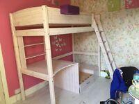 Thuka trendy 29 high sleeper bed