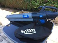Macallister MBV2800 - 240 volt leaf blower