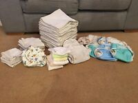 Reusable cloth nappies and accessories