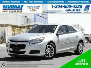 2014 Chevrolet Malibu 1LT *Sunroof, Remote Start, Rear View Came
