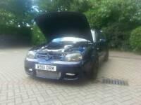 Golf gti 1.8t Hybrid turbo 255bhp massive spec must see!!