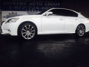 2013 Lexus GS 350 AWD F-Sport Wheels! Navigation! Bluetooth! Sun