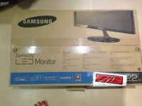 Samsung 21.5 inch LED Monitor - BRAND NEW & BOXED