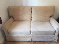 Sofa in great condition in beige/ light brown/ cream