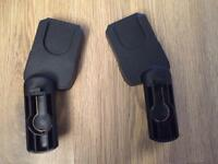 Quinny buzz adapters for Maxi Cosy car seat