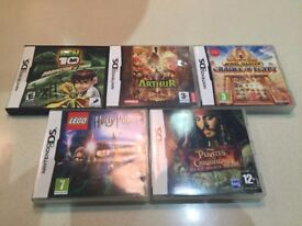 Nintendo DS games - Bundle of 5 games