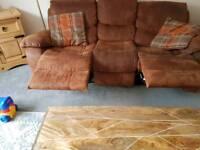 Leather sofay