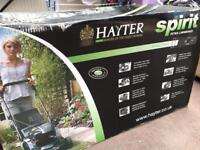 Hayter Spirit 41 petrol lawn mower NEW