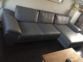 Sofa foux leather
