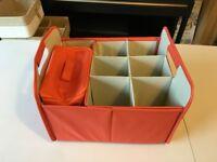 7 compartment organiser