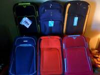 Suitcases brand new top quality lightweight materials .