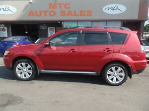 2011 Mitsubishi Outlander XLS, LEATHER, SUNROOF, 7 PASSENGER