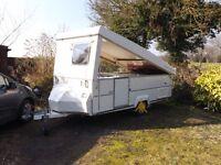 Folding Caravan. Gobur 12/2T, 2 berth, (1998)