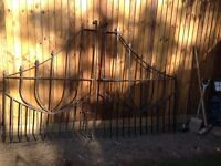 Wrought iron gate and fences for sale