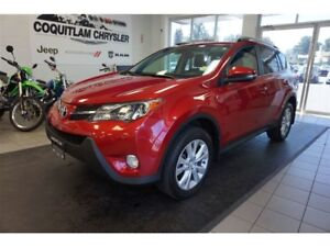 2015 Toyota RAV4 Limited - Leather, Sunroof, GPS