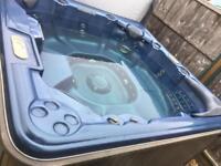 Elite spa hot tub