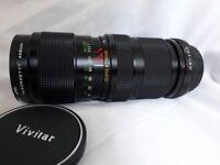 Vivitar 75-205mm f3.8 zoom lens K-mount for Pentax