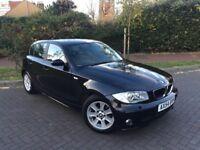 2004 BMW 1 SERIES 120d SE HUGE SPEC SAT NAV LEATHER 2 OWNERS