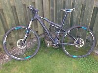 Cube AMS 120 PRO Mountain Bike 29er Full Suspension (hybrid and mb tyres)